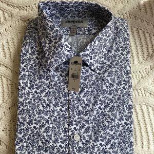 EXPRESS MEN'S SLIM Dress Shirt